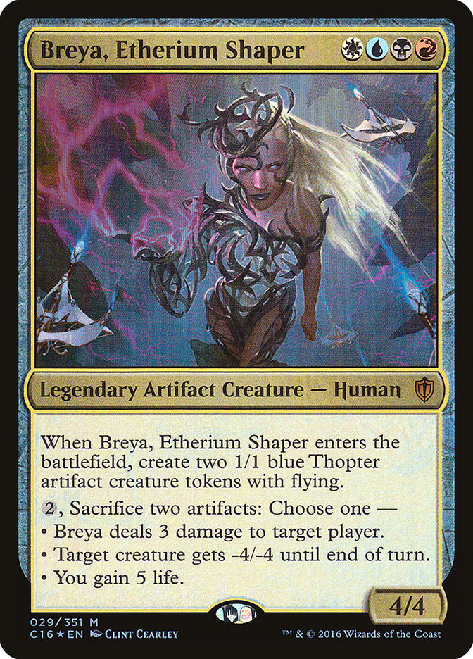 Breya, Etherium Shaper