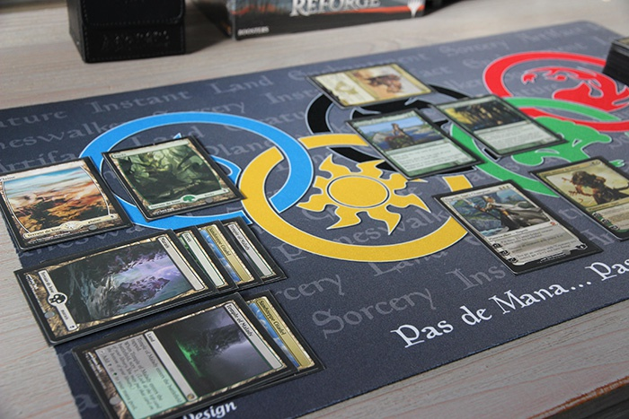 Mon playmat personnalisé Inked Gaming