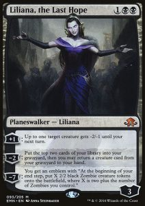 Planeswalker Liliana The Last Hope